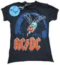 Amplified off. AC/DC ACDC FLY en The MUR TOUR 85 LOGO STAR vintage tee-shirt G.