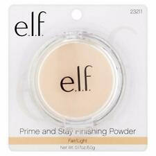 ELF Makeup PRIME & STAY Foundation Setting FINISHING POWDER Fair / Light VEGAN