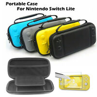 Etui Housse pour Nintendo Switch Lite,Pochette Portable Etui Rigide Zippée RHN02