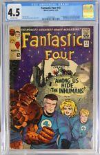 FANTASTIC FOUR # 45 - CGC 4.5 - Marvel - 1st app of LOCKJAW & THE INHUMANS - KEY