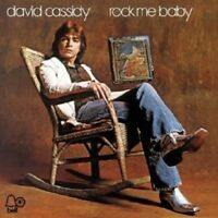 "DAVID CASSIDY ""ROCK ME BABY"" CD 11 TRACKS NEW!"