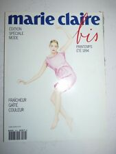 Magazine mode fashion MARIE CLAIRE BIS french #29 printemps été 1994