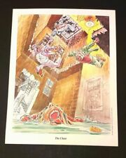 "Will Eisner ""The Spirit"" stampa 32x41 (6 soggetti differenti) ""The Chase"""