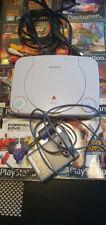 Sony PlayStation 1 - Slim (PSone) Konsole - 8 Spiele,ohne Controller