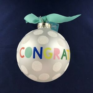 Coton Colors ~ Congrats! Ornament ~ NWT ~ Free Shipping!!!