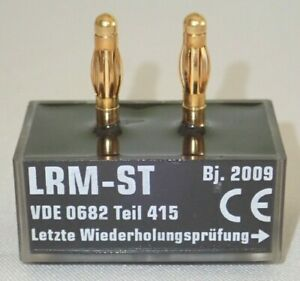 HORSTMANN LRM-ST VOLTAGE INDICATOR FOR CAPACITIVE MEASURING POINTS NEW