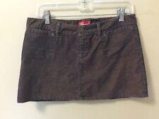 VTG Revival Brown/Gray Iridescent Short Mini Corduroy Skirt Sz 5/6