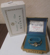 BULOVA 10K ROLLED GOLD PLATED LADIES WRIST WATCH NOT WORKING **