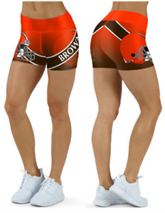 Cleveland Browns Small to 2XL Women's Shorts