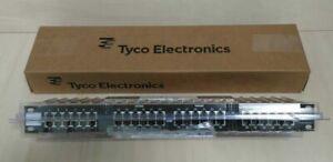 • TYCO/ AMP 1777105-1 NETCONNECT MRJ21 PATCH PANEL 48-PORT 10/100/100BASE-T #GO2