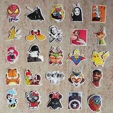 Graffiti Cartoon Garfield Pokemon Stickers for Luggage Car Skateboard Bomb Decal