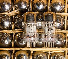 RARE TESTED/MEASURED PAIR 6N2P-ER 90's TRIPLE MICA MILITARY TUBES ~ ECC83 12AX7