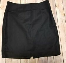 Banana Republic Women's  Black Career Pencil Skirt Fully Lined Size 12