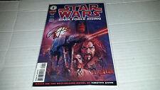 Star Wars Dark Force Rising # 1 (Dark Horse, 1997) SIGNED Timothy Zahn