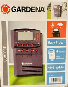 Gardena Bewässerungssteuerung 4040 1276-20 Irrigation Control 4 Channel Max. 12