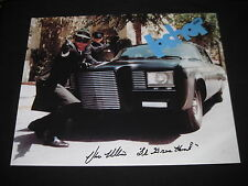 VAN WILLIAMS signed photo GREEN HORNET Bruce Lee Dean Jeffries Black Beauty car