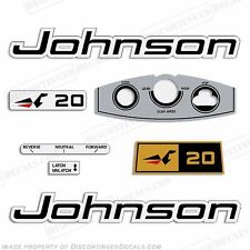 Johnson 1969 20hp Outboard Decal Kit - Discontinued Decal Reproductions! Sticker
