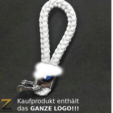 Leder Schlüsselanhänger für BMW 3er X5 X6 X3 M3 1er Z3 M5 M6 xDrive Weiß White