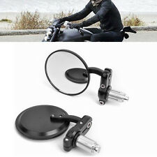 """ROYAL ENFIELD BULLET Motorcycle Rear view Side Mirror For 7/8""""  Handlebar..."""