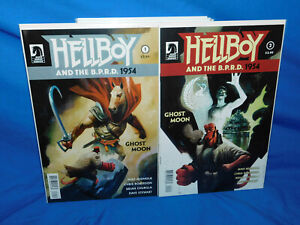 Hellboy and the B.P.R.D. 1954 Ghost Moon 1 2 Complete Set Run! VF+