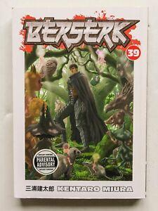 Berserk Vol. 39 Kentaro Miura Dark Horse Manga Novel Comic Book