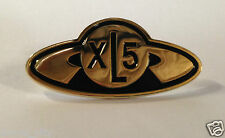 Fireball XL5 Metal Lapel PIN brooch / Gerry Anderson XL 5 thunderbirds Stingray