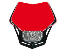 Masque Boîtier d'éclairage Racetech V-Face Rouge Honda Rtech Phare Antérieur