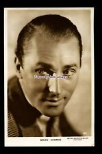 b6478 - Film Actor - Brian Aherne, No.127 - M.G.M.Pictures - postcard