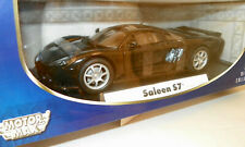Saleen S7 Black 1/18 Diecast Collection Model Car by Motormax