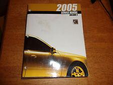 2005 SATURN L SERIES  Dealership Factory Service Repair Manual, VOLUME 2