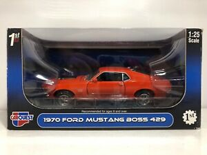FIRST GEAR CAR QUEST 1970 FORD MUSTANG BOSS 429 1/25 SCALE DIE CAST! FREE SHIP