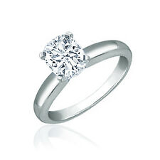Estate Style GIA Certified 1.00 CT Cushion Cut Solitaire Diamond Engagement Ring