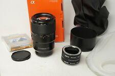 Sony FE 90mm F2.8 Macro G OSS Lens SEL90M28G Kit + Extras