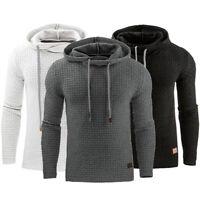 Men's Casual Sports Hoodie Sweatshirt Hooded Coat Jacket Sweater Pullover Tops