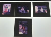 Lot Of 4 Vintage Color Photo Slides Of Gypsy And Waiter Carnival 1961
