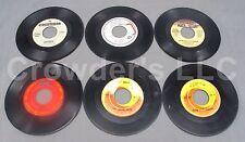 "6 Double Sided Singles 7"" 45 rpm Clanton Aerosmith Lou Beach Boys Peter & Gordon"