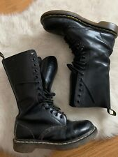 Doc Martens The ORIGINAL Mid Calf Tall Boot AW004 US Size 7 Vintage Combat Boots
