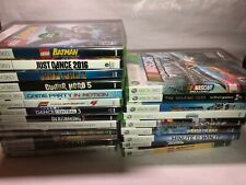 NEW & SEALED XBOX 360 GAMES Lot Factory sealed