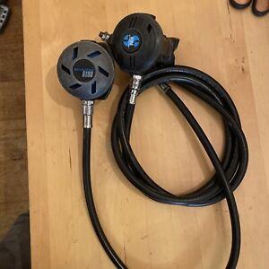 Pair Scuba Pro R190 , Diving Regs Scuba. One With Long Hose