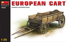 MiniArt 1/35 35553 European Cart (WWII Military Building & Accessories)