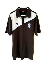 Birmingham City Polo Shirt. Small Adults. Grey Short Sleeves Football Top Only S