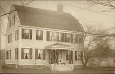 Norwich CT Fraunce's House c1910 Real Photo Postcard