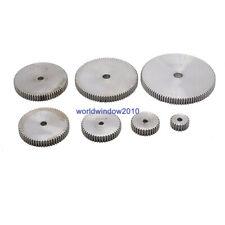 45# Steel Spur Gear 1M12T-1M100T Metal Mod 1 Pinion Gear 12-100 Tooth Moter Gear