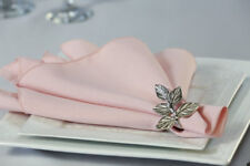 Blush Polyester Napkins (Pack of 100), Wedding Napkins, Dinner Napkins