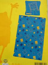 Set Bettwäsche Kinderbett Garnitur 135x200, 80x80,  SpongeBob(TM), Schwammkopf
