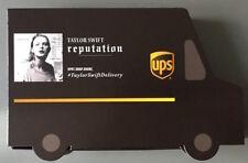 TAYLOR SWIFT - REPUTATION - UPS NUMBERED EDITION CD - BUNDLE PIN PHOTOS TRUCK