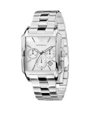Pre-Owed Used Emporio Armani AR0483 Chronograph Stainless Steel Mens Watch