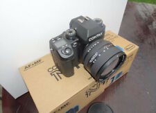 Contax N1 35mm Film Camera With 24-80mm Lens. Both Boxed And Immaculate