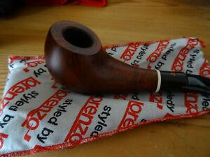 Lorenzo Pfeife BORMIO 8547/1 mit orig Beutel Tasche beraucht gebraucht Nachlass