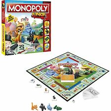 Hasbro Gaming Monopoly Junior, Brettspiel